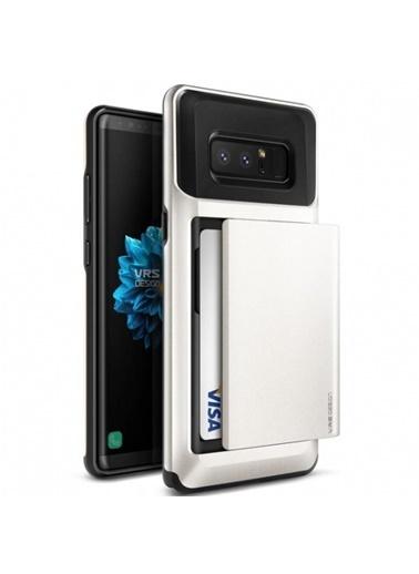 Galaxy Note 8 Damda Glide Kılıf White-Verus